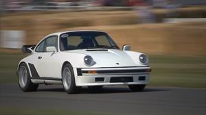 Porsche 911 TAG Turbo estrena motor de F1