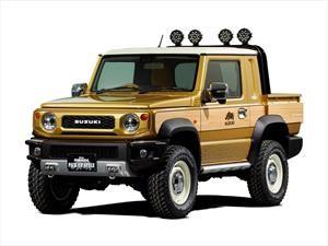 Suzuki llevará un Jimny hecho camioneta al Salón de Tokio