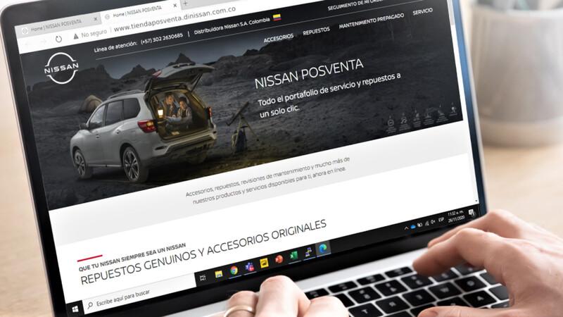Nissan Colombia lanza tienda en línea para posventa