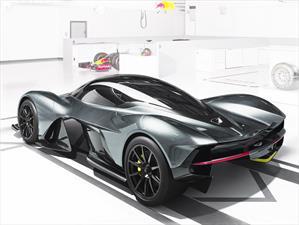 AM-RB 001, el súper auto de Aston Martin y Red Bull