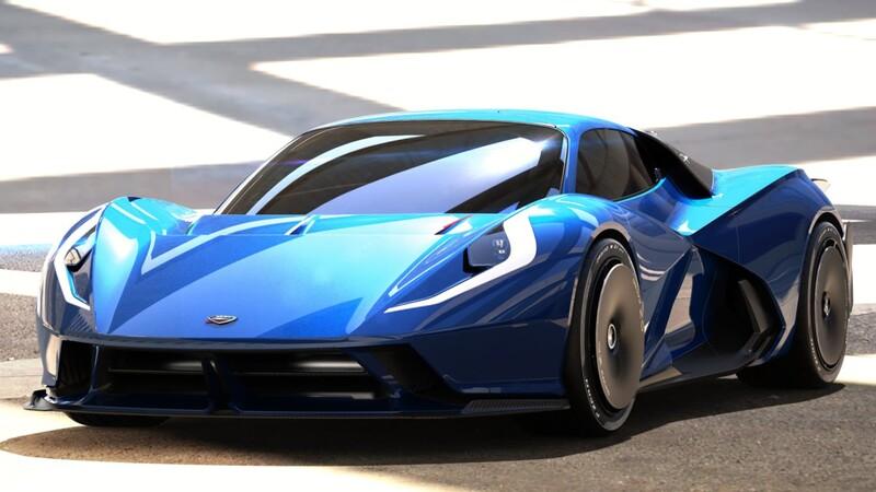 Estrema Fulminea: un auto eléctrico que acelera de 0 a 320 km por hora en menos de 10 segundos
