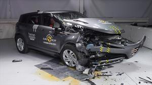 Euro NCAP evalúa con 5 estrellas al Range Rover Evoque