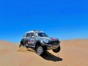Nasser Al-Attiyah se quedó con la décima etapa Dakar 2014 Categoría autos