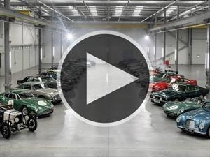Video: Aston Martin eligió a los mejores modelos de su historia