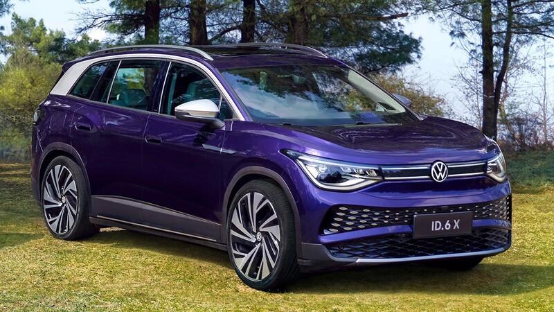 Shanghái 2021: Volkswagen ID.6, el hermano grande de la familia debuta en China