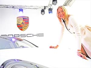 Maria Sharapova presenta su Porsche Panamera GTS