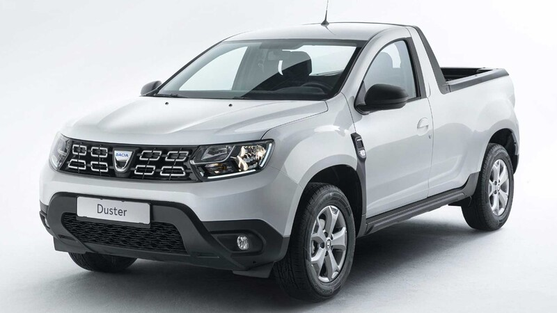 Dacia Duster Pick-up 2021, la Renault Oroch rumana