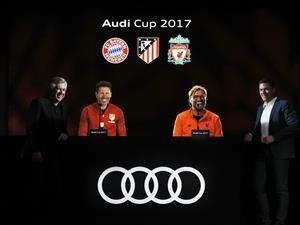Todo preparado para la Audi Cup