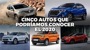 Cinco autos que podríamos ver en Chile el 2020