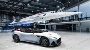 Aston Martin homenajea al mítico Concorde