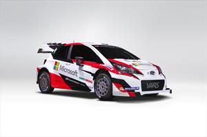 ¡Por fin! Toyota revela el Yaris WRC 2017