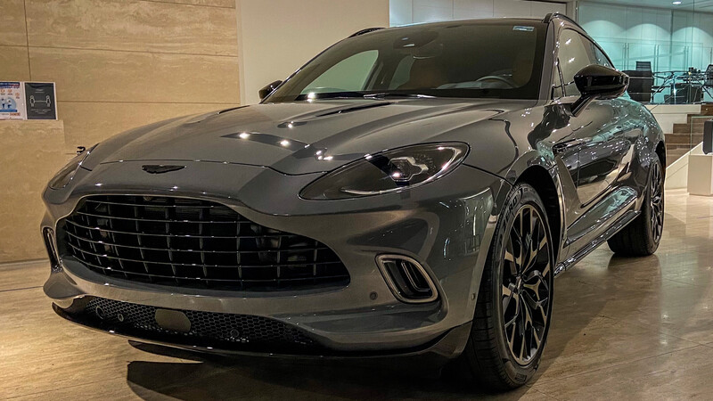 Aston Martin DBX llega a México, la SUV ideal para James Bond