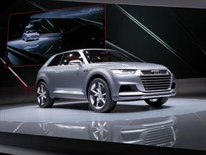 Audi Crosslane Coupé Concept en París 2012