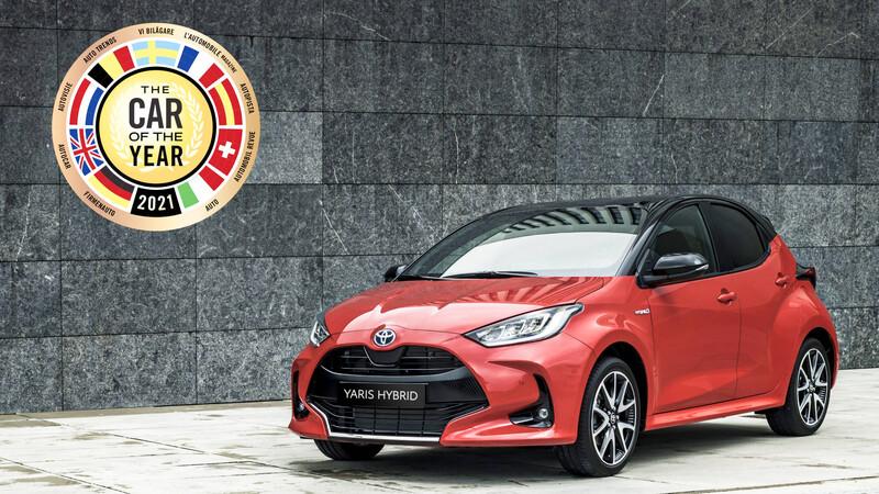 El Toyota Yaris es el Auto del Año 2021 en Europa