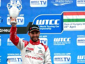 WTCC Hungría, nueva victoria de Pechito