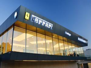 SKBergé inaugura nueva casa matriz de Ferrari y Maserati en Santiago