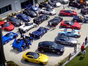 Pagani Raduno, la junta de autos más exclusiva