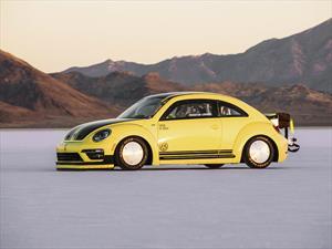 Volkswagen Beetle impone récord de velocidad