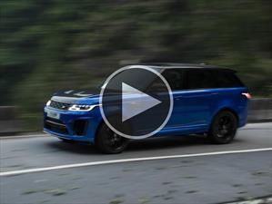 Video: Range Rover Sport SVR, una nueva estrella en Tianmen