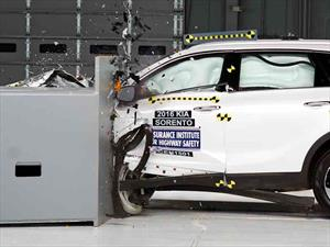 Top Safety Pick+ del IIHS para el  KIA Sorento 2017