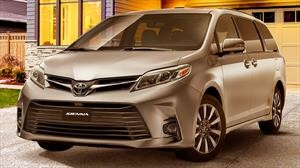 Toyota Sienna 2020 se presenta