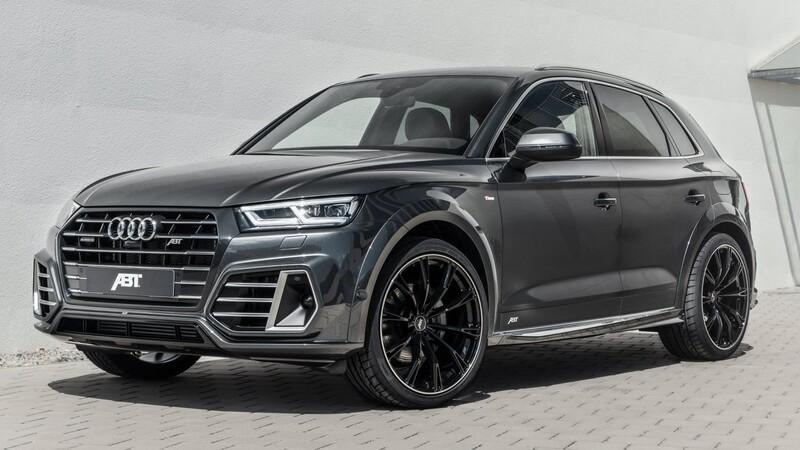 Audi Q5 híbrido plug-in por ABT se presenta