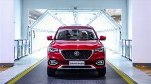 MG Motors HS listo para exportación