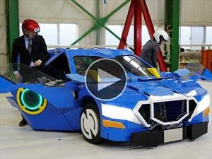 Video: J-deite RIDE, un Transformer en la vida real
