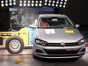 Latin NCAP: Volkswagen Polo, 5 estrellas en pruebas de seguridad