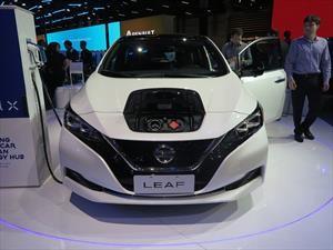 Nissan confirma la llegada del Leaf a Argentina en el Salón de San Pablo