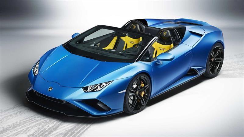 Lamborghini Huracán EVO RWD Spyder se presenta