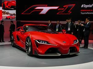 Toyota FT-1 Sports Coupé Concept se presenta