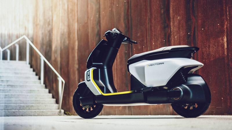 Husqvarna Vektorr Concept 2021: la visión sueca de una urbana sin emisiones