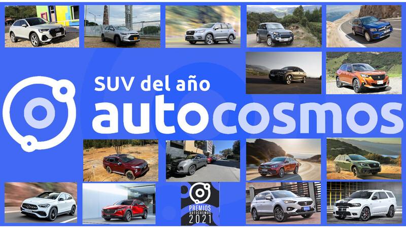Premios Autocosmos: candidatos al SUV 2021