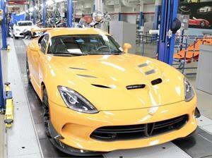 Último Dodge Viper sale de línea de producción