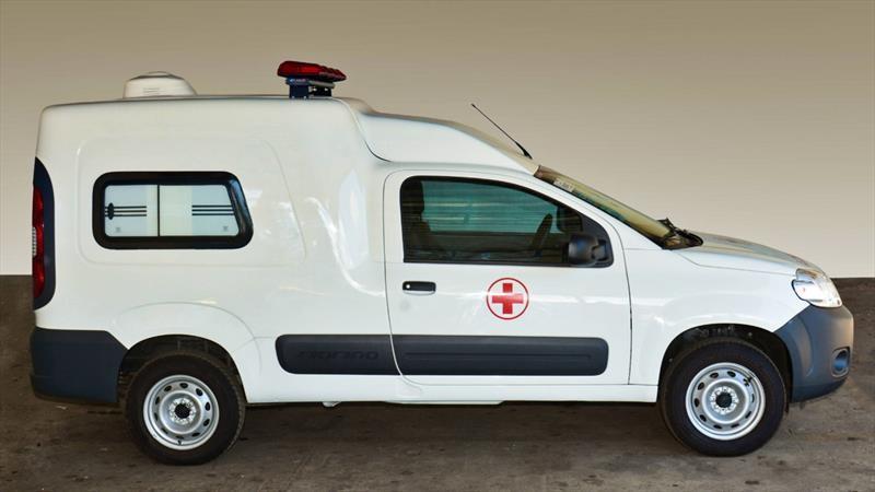 Fiat convierte a la Fiorino en ambulancia