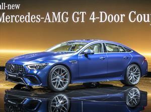 Mercedes-AMG GT 4 Puertas Coupe, el sedán que faltaba