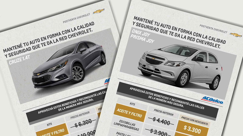 Postventa Chevrolet brinda un nuevo servicio para los vehículos sin garantía