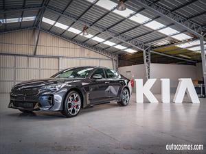 Kia Stinger 2018 en Chile, un gran turismo que pica