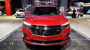 Salón de Chicago: Chevrolet Equinox 2021 aparece con look deportivo