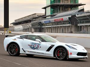 Corvette Z06 es el pace car de las 500 Millas de Indianápolis