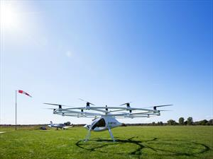Vehículos tipo drones para el transporte aereo de personas, salen a la venta