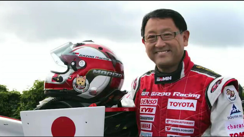 Akio Toyoda es la personalidad del año 2021 de los World Car Awards