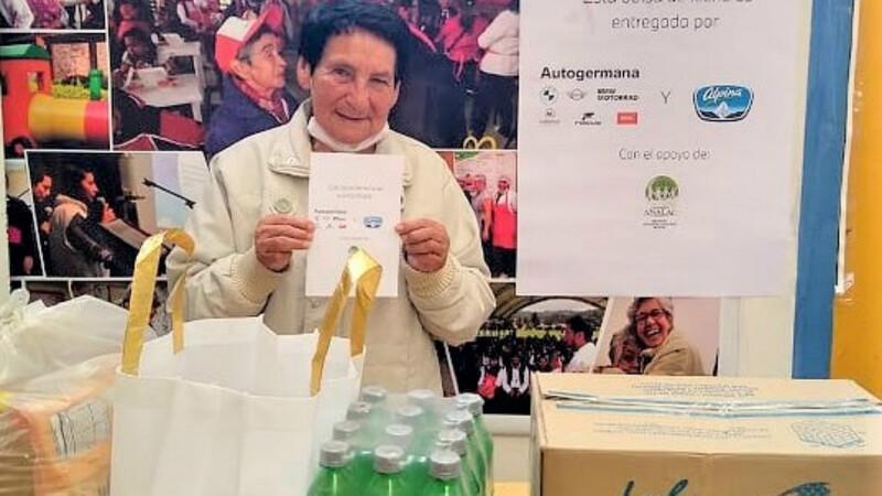 Autogermana y Alpina se unen por la nutrición de los más vulnerables
