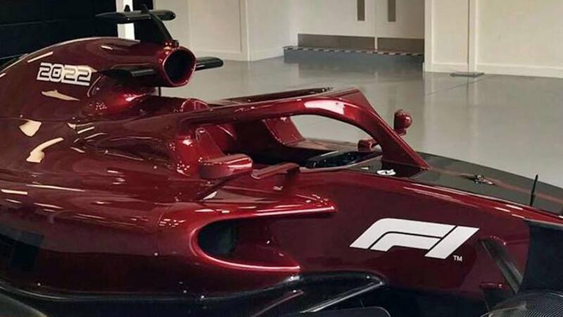 F1: Así se verán los monoplazas desde 2022