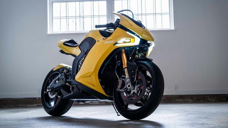 Damon Hypersport, una moto para la rutina
