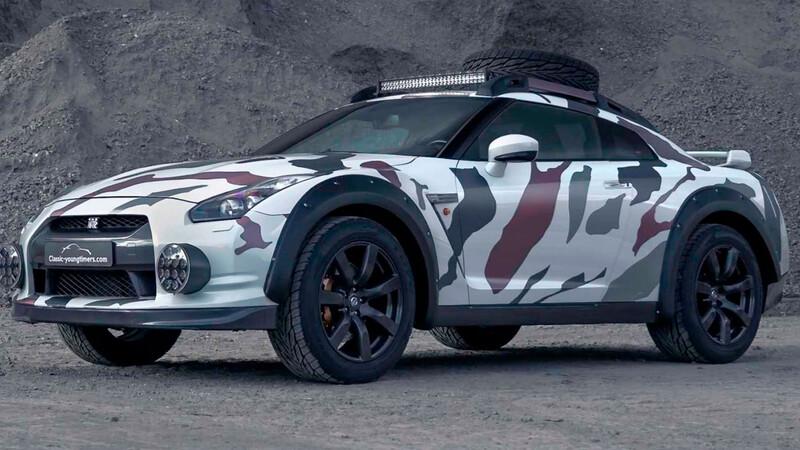 Godzilla 2.0, el Nissan GT-R se convierte en un monstruo todoterreno