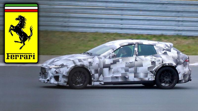 Ferrari ya desarrolla en pista a la Purosangue