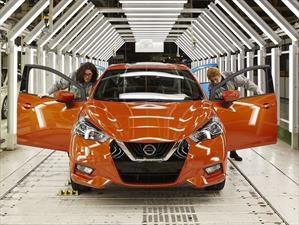 Nissan March 2017 inicia su producción en Europa