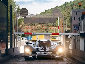 Porsche 917 recorre las calles de Mónaco